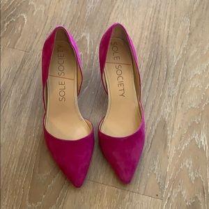 Sole society heels!